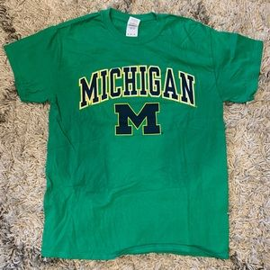 University of Michigan Green St. Patty's Tee M